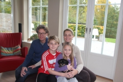 Holly og familie