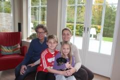 Holly og familie
